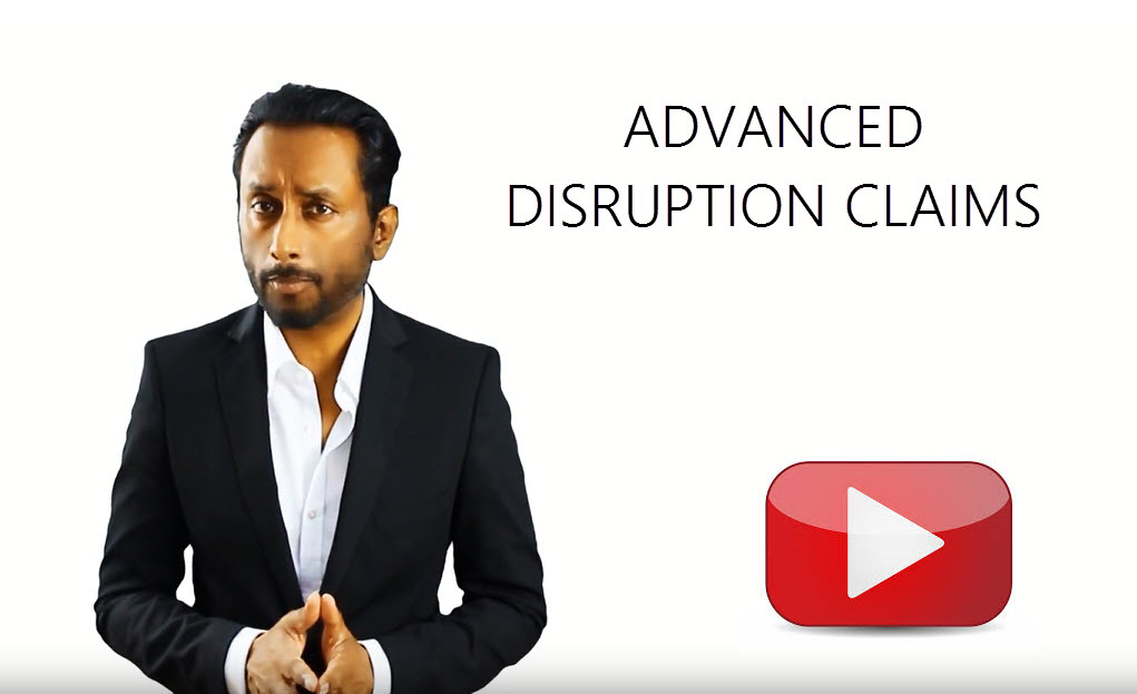 Advanced Disruption Claims N.M.Raj Construction