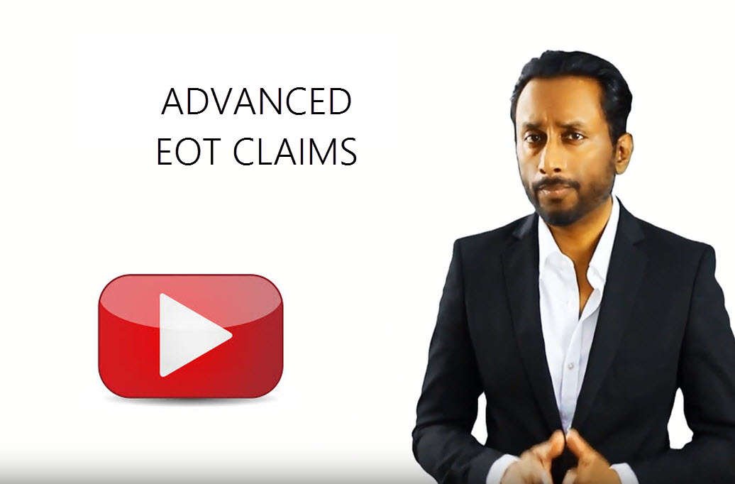 advanced construction EOT Prolongation Extension of time claims N.M.Raj